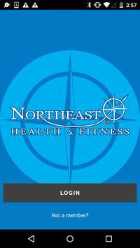Northeast Health & Fitness poster