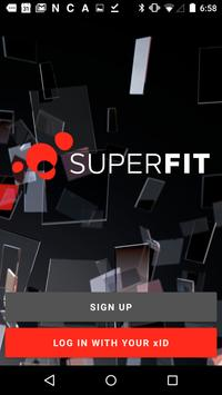 Superfitclubs poster