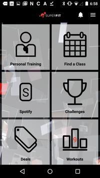 Superfitclubs screenshot 2