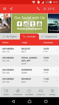 Sharjah Airport poster