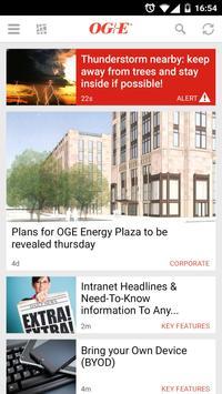 OGE Member News Mobile poster