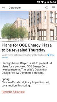 OGE Member News Mobile screenshot 1