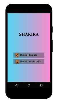Shakira Lyrics poster