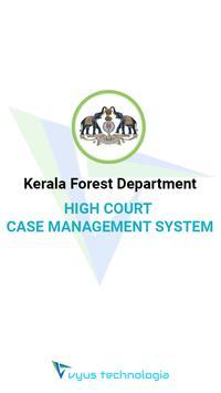 Kerala Forest Dept. HC Case Management System poster