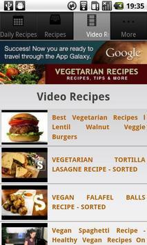 Vegetarian Recipes! screenshot 2