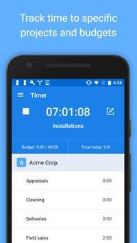Hubstaff - Time Tracking & GPS apk screenshot