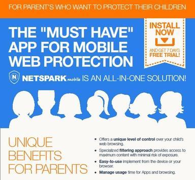 NetSpark Parental Control poster