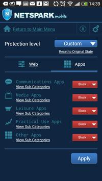 NetSpark Parental Control screenshot 1