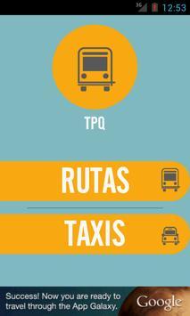 Transporte Publico Queretaro poster