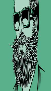 Man Beard Photo Editor poster