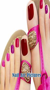 Nail Art Picture poster