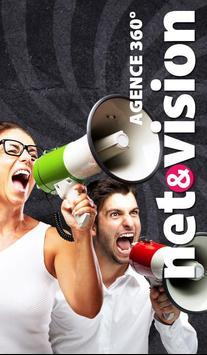 NETVISION - Agence Digitale poster