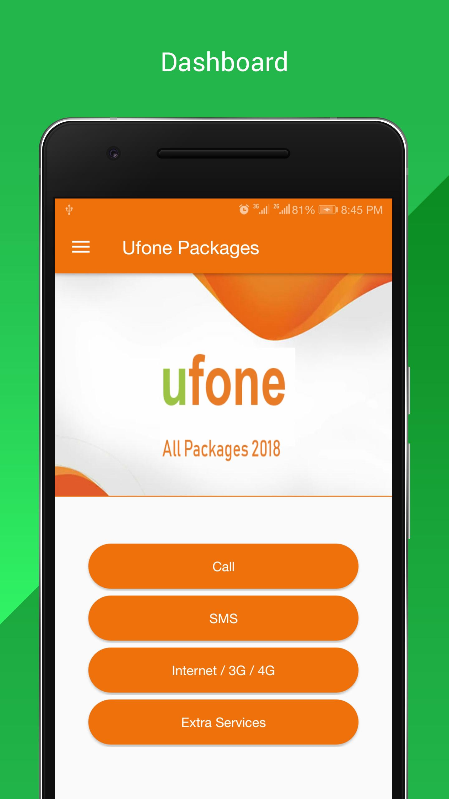 All Ufone Packages 2018 poster