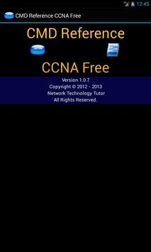 CMD Reference CCNA Free poster