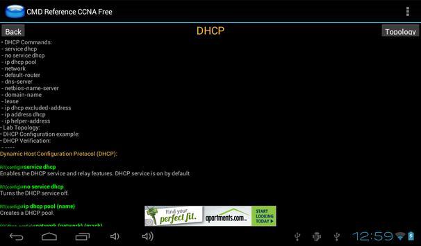 CMD Reference CCNA Free screenshot 10