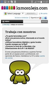 lamoraleja.com poster