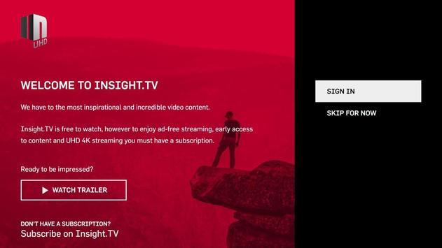 INSIGHT.TV UHD poster