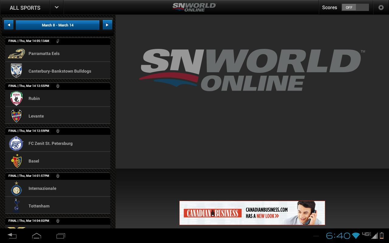 Sportsnet World For Android Apk Download