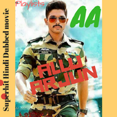Allu Arjun Superhit South Indian Movie in Hindi icon