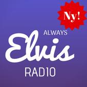Always Elvis Radio DK App Netradio Online Danmark icon