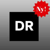 DR DK Nyheder App FM DK Lyt Gratis Online Musik icon