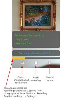 Smile - Smart Photo Annotation apk screenshot