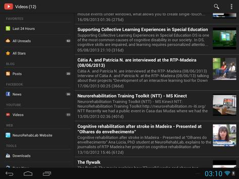 NeuroRehabLab - Research apk screenshot