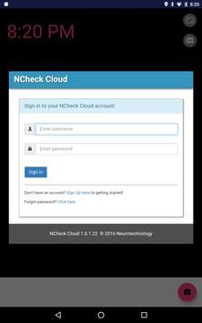 NCheck Cloud Bio Attendance apk screenshot