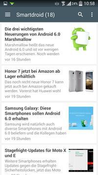 News für Android screenshot 1