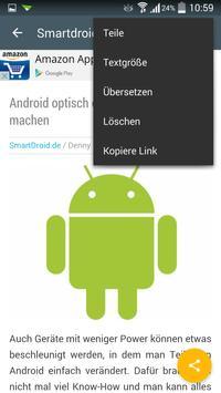 News für Android screenshot 3