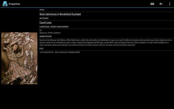 AlReader captura de pantalla 13