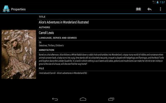AlReader captura de pantalla 20