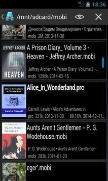 AlReader -any text book reader apk imagem de tela