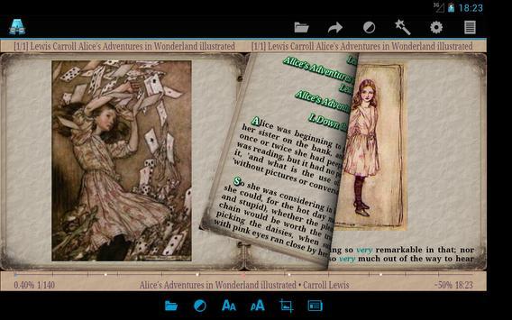 AlReader captura de pantalla 8