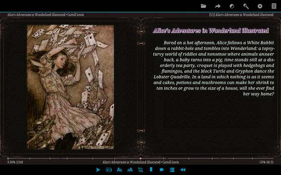 AlReader captura de pantalla 9