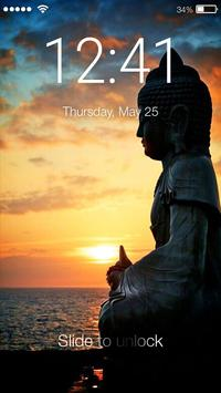 Buddha Enlightenment Screen Lock poster
