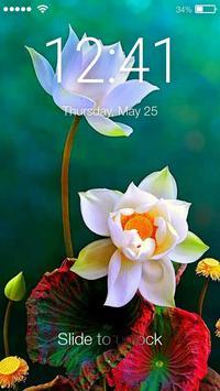 Lotus Flower Screen Lock poster