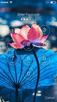 Lotus Flower Screen Lock apk screenshot