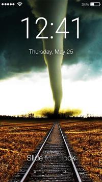 Power Tornado Screen Lock poster