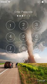Power Tornado Screen Lock screenshot 1