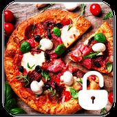 Pizza Food Screen Lock icon