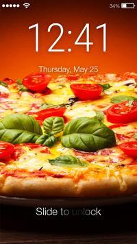 Pizza Food Screen Lock poster