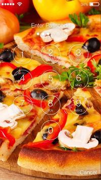 Pizza Food Screen Lock apk screenshot