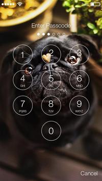 Pug Dog Screen Lock apk screenshot