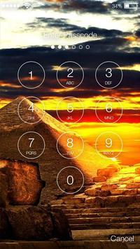Pyramid Lock Screen apk screenshot