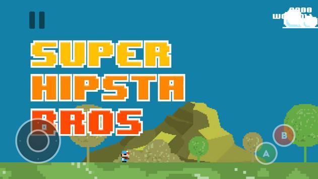 Super Hipsta Bros poster
