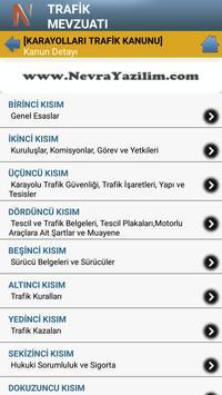Trafik Mevzuatı screenshot 2