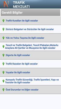 Trafik Mevzuatı apk screenshot