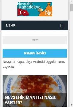 Nevşehir Kapadokya poster
