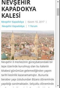 Nevşehir Kapadokya screenshot 2